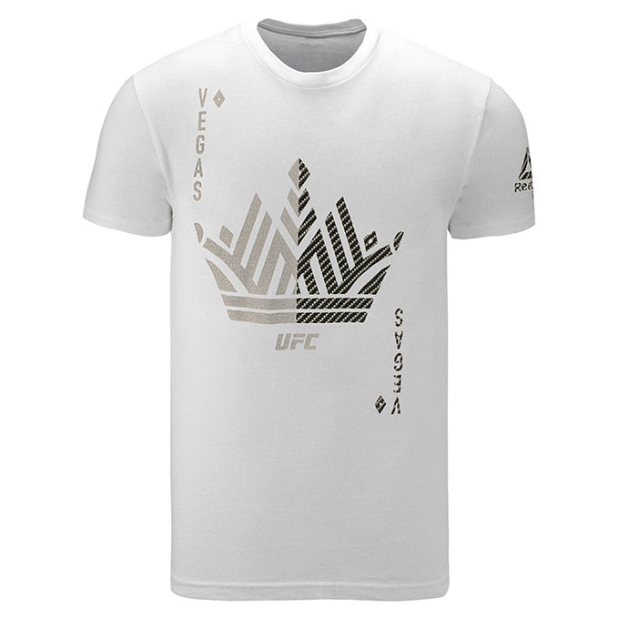 UFC White Vegas Weigh-In T-Shirt