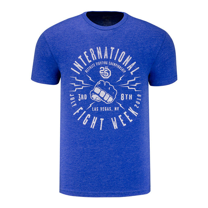 UFC International Fight Week 2018 Blue T-Shirt