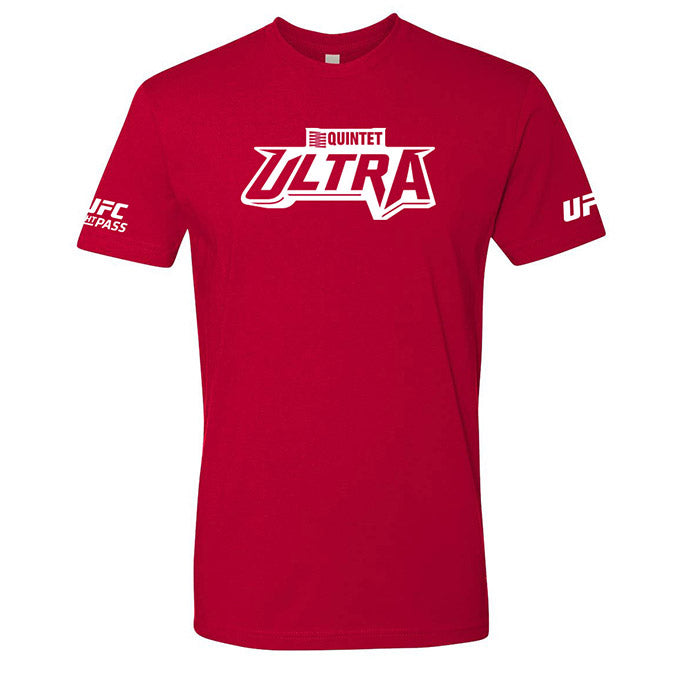 Quintet Ultra UFC T-Shirt - Red