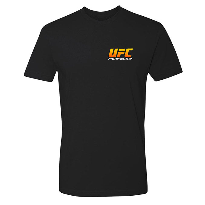 Men's UFC Fight Island Ulti-Man AZE Comic T-Shirt - Black
