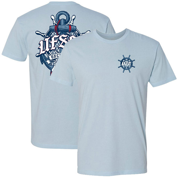 Men's UFC UF-SEA Helm T-Shirt - Light Blue