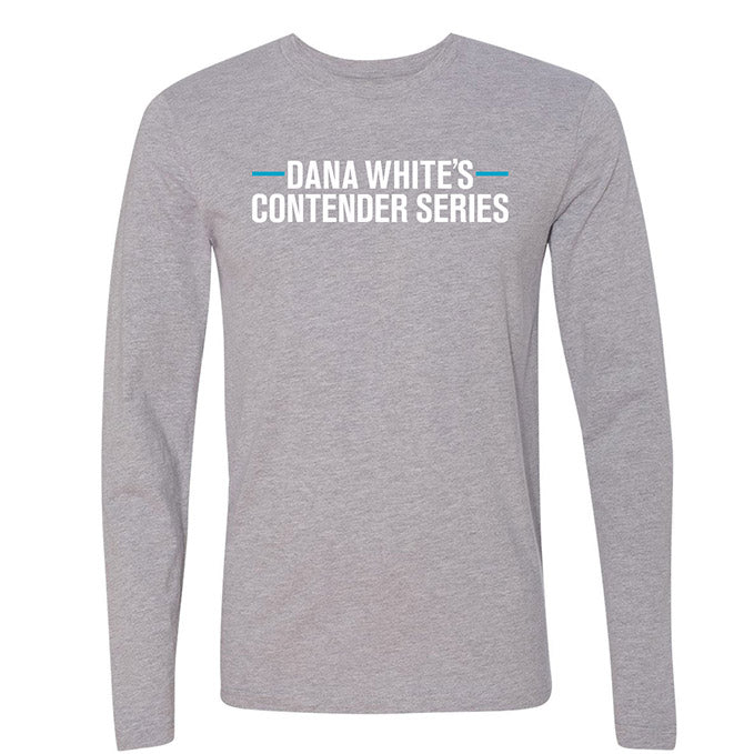 Men's DWCS Logo Long Sleeve T-Shirt - Heather Grey