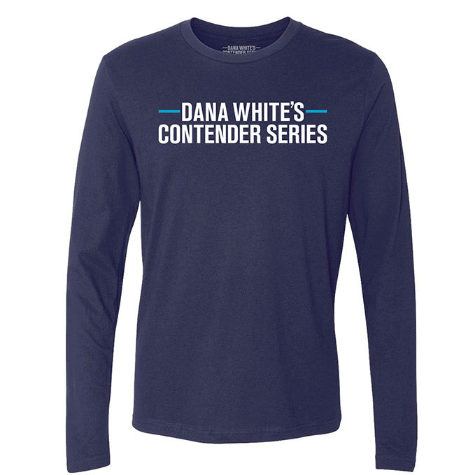 Men's DWCS Logo Long Sleeve T-Shirt - Navy