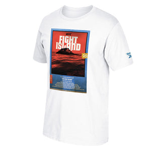 Men's UFC Fight Island Returns Reebok Influencer T-Shirt - White