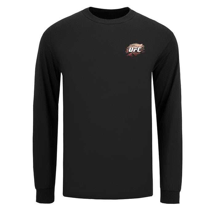 Men's UFC Fight Island Returns Long Sleeve T-Shirt - Black
