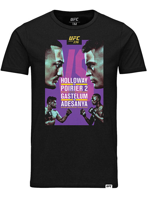 UFC 236 Holloway vs Poirier 2 Event T-Shirt