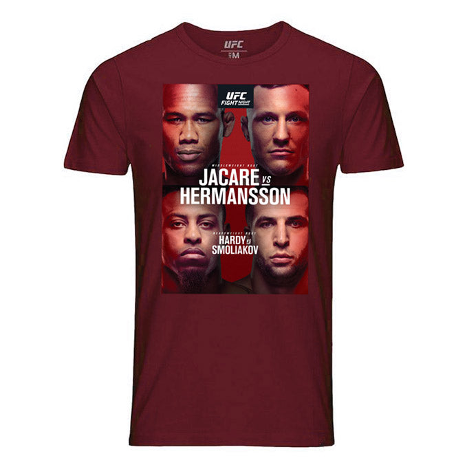 UFC Fight Night Fort Lauderdale Jacaré vs Hermansson Event T-Shirt