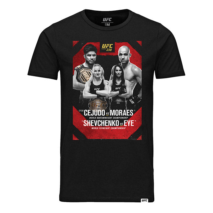 Men's UFC 238 Event T-Shirt - Black