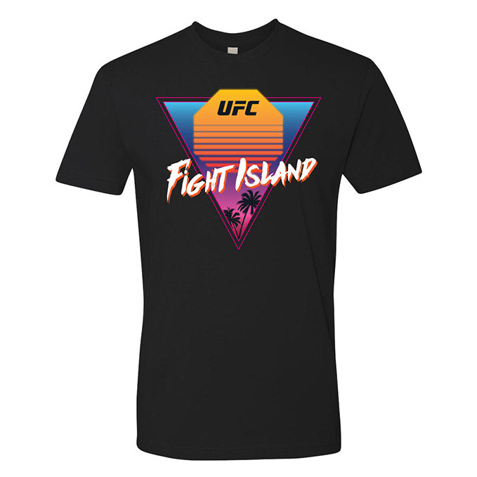 Men's UFC Fight Island Sunset T-Shirt - Black
