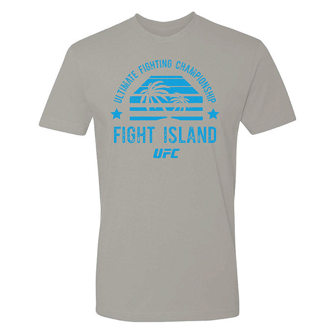 Men's UFC Fight Island Shades T-Shirt - Light Grey