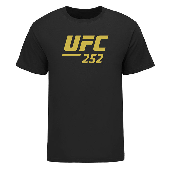 Men's UFC 252 Event T-Shirt - Black