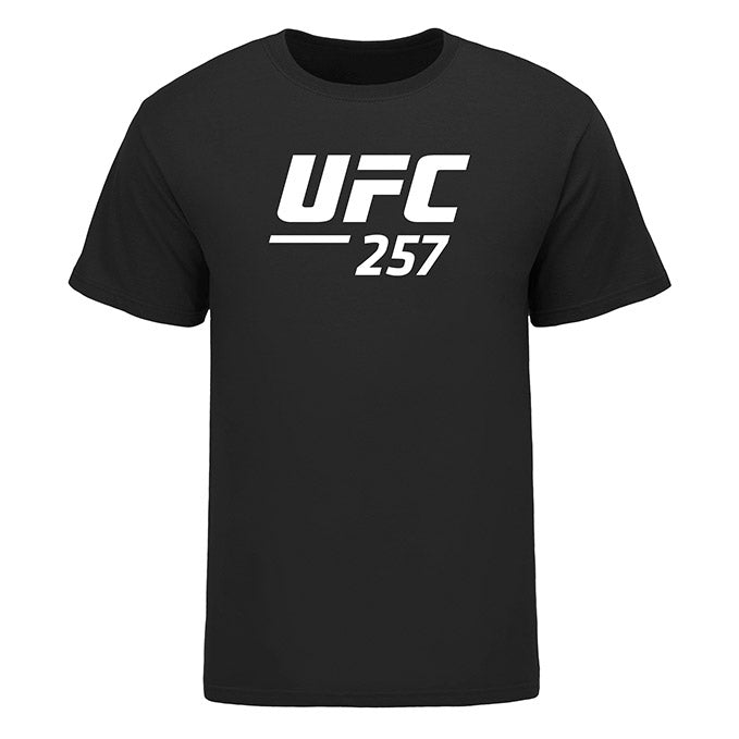 Men's UFC 257 Event T-Shirt - Black