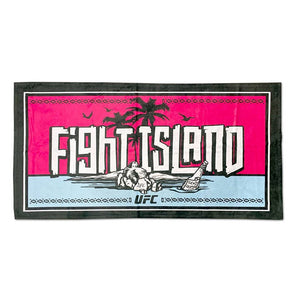 UFC Fight Island Oversize Beach Towel