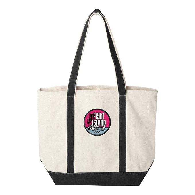 UFC Fight Island Canvas Tote
