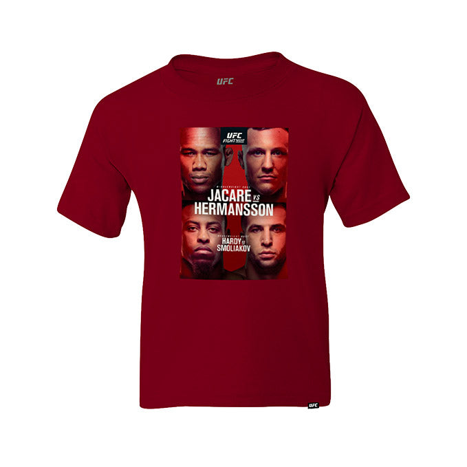Kid's UFC Fight Night Fort Lauderdale Jacaré vs Hermansson Event T-Shirt