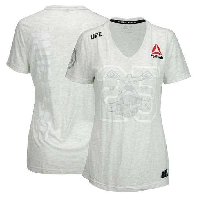 Lauren Mueller UFC Event Worn Jersey Beijing China