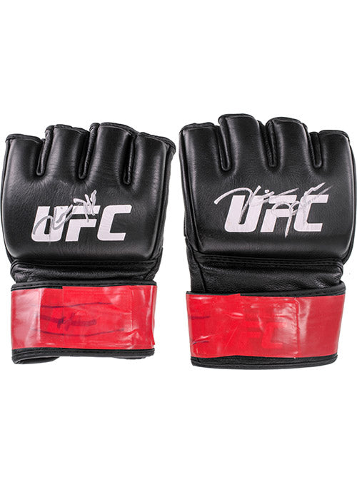 Kevin Holland Autographed UFC Event Worn Gloves Beijing China