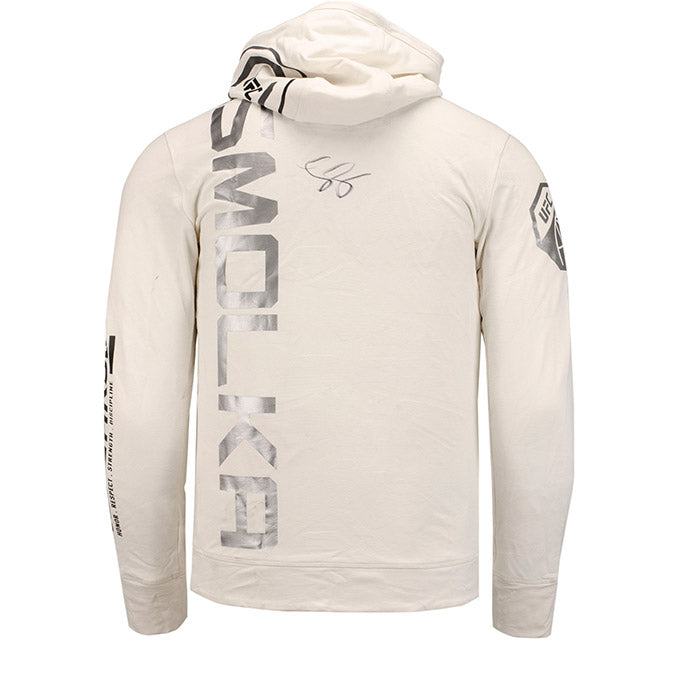 Louis Smolka Autographed UFC Event Worn Hoodie Beijing China