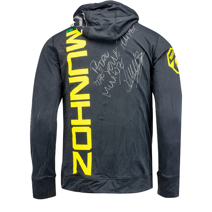 Pedro Munhoz Autographed UFC's The Ulimate Fighter 28 Finale Event Worn Hoodie Las Vegas Nevada