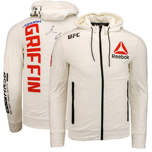 Jordan Griffin Autographed UFC Event Worn Hoodie Milwaukee Wisconsin