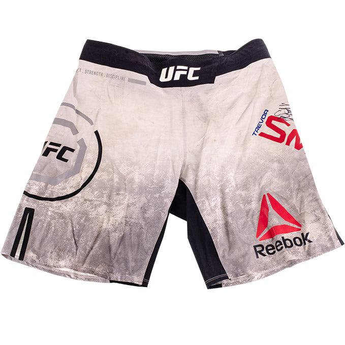 Trevor Smith Autographed UFC Event Worn Shorts Milwaukee Wisconsin