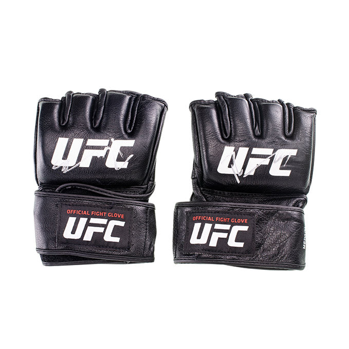 Ricardo Ramos Autographed UFC Event Worn Gloves Fortaleza Brazil