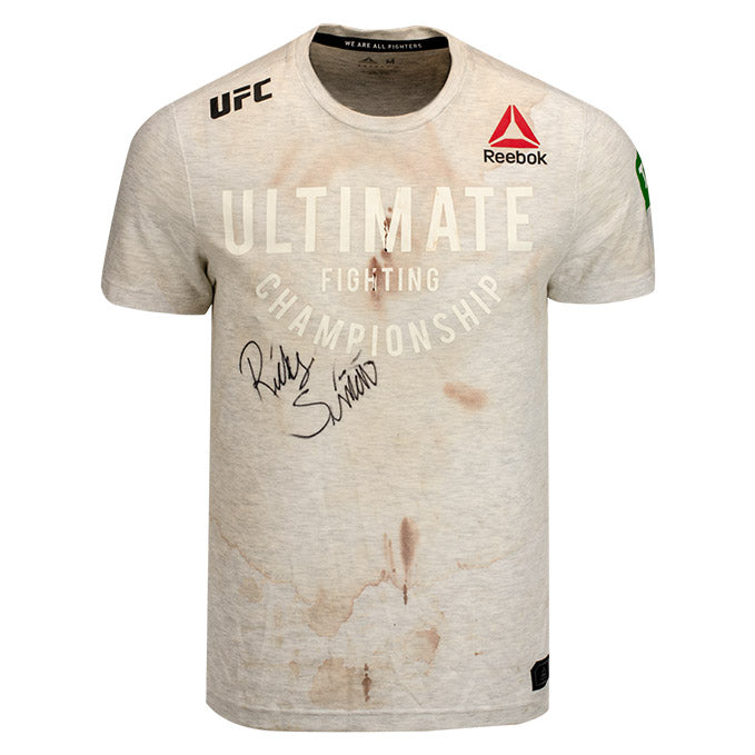 Ricky Simon Autographed UFC Event Worn Jersey UFC 234