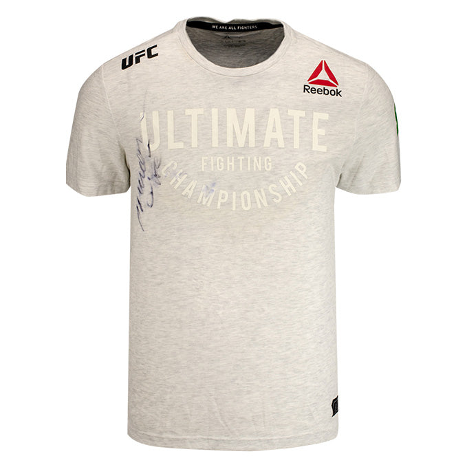 Anderson Silva Autographed UFC Event Worn Jersey UFC 234