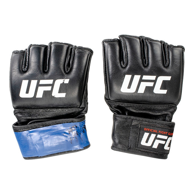 Carlo Pedersoli UFC Event Worn Gloves Fight Night Prague Czech Republic