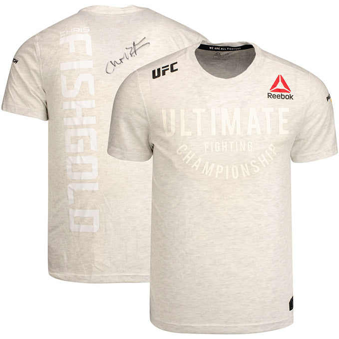 Chris Fishgold Autographed UFC Event Worn Jersey Fight Night Prague Czech Republic