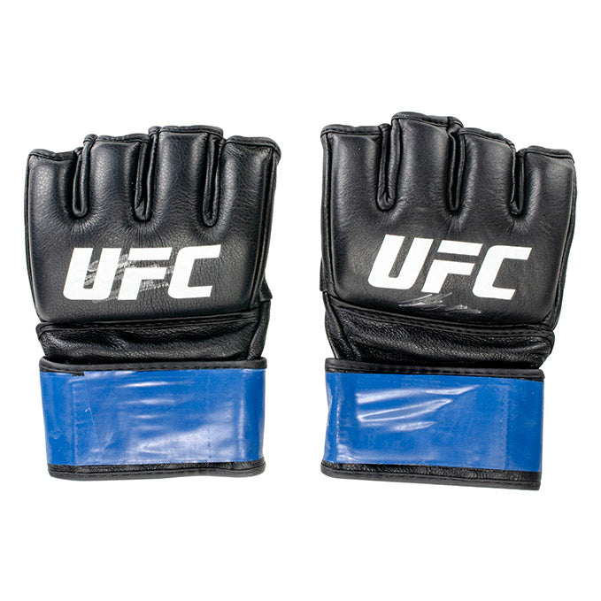 Marco Polo Reyes Autographed UFC Event Worn Gloves Fight Night Prague Czech Republic