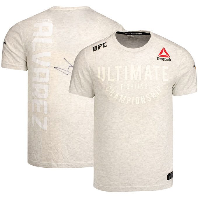 Joel Alvarez Autographed UFC Event Worn Jersey Fight Night Prague Czech Republic