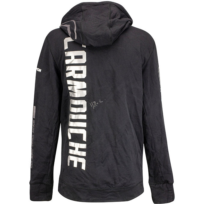 Liz Carmouche Autographed UFC Event Worn Hoodie Fight Night Prague Czech Republic
