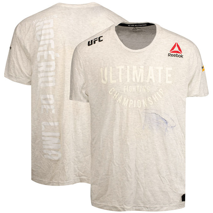 Marcos Rogerio De Lima Autographed UFC Event Worn Jersey Fight Night Prague Czech Republic