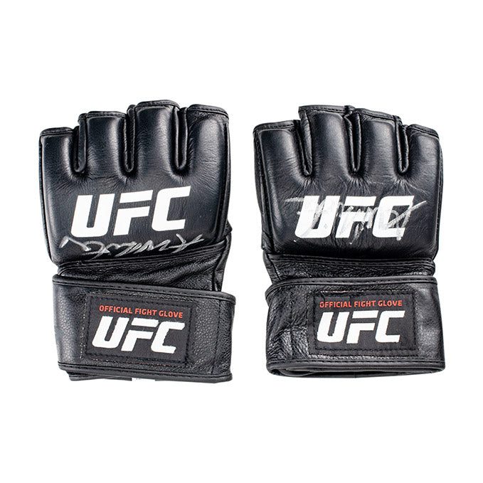 Alex White Autographed UFC Event Worn Gloves Fight Night Wichita KS