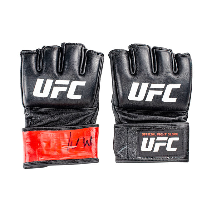 Louis Smolka UFC Event Worn Gloves Fight Night Wichita KS