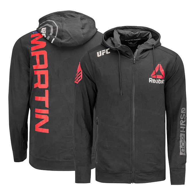 Tony Martin UFC Event Worn Hoodie Fight Night Wichita KS