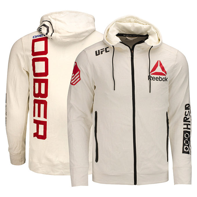 Drew Dober UFC Event Worn Hoodie Fight Night Wichita KS