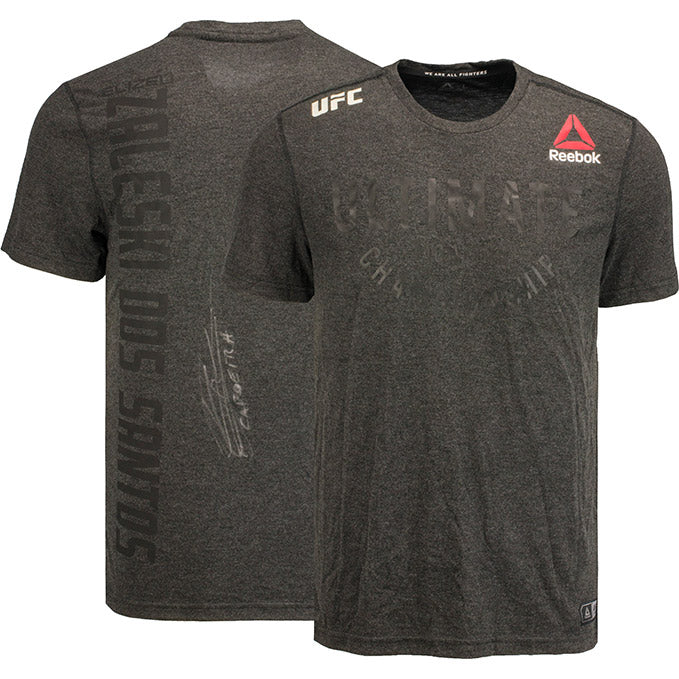 Elizeu Zaleski Dos Santos Autographed UFC Event Worn Jersey Fight Night Wichita KS
