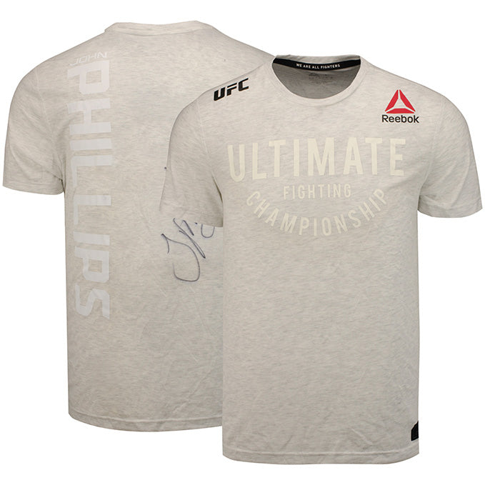 John Phillips Autographed UFC Event Worn Jersey Fight Night London UK