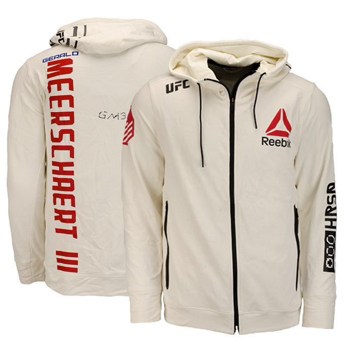 Gerald Meerschaert UFC Event Worn Hoodie Fight Night Philadelphia