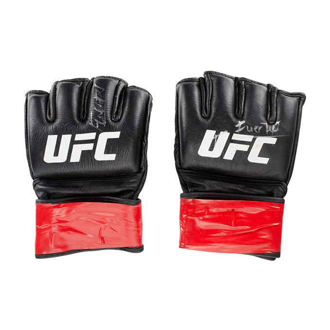 Enrique Barzola UFC Event Worn Gloves Fight Night Philadelphia