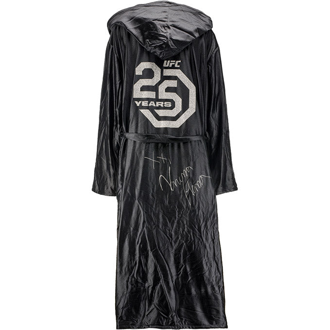 Vanessa Hanson UFC Event Worn Robe 25th Anniversary