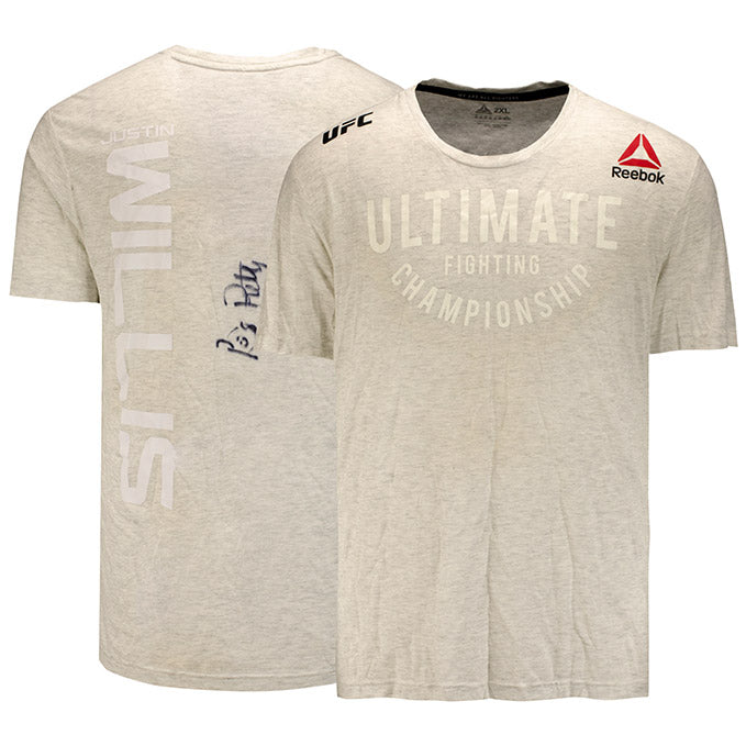 Justin Willis UFC Event Worn Jersey