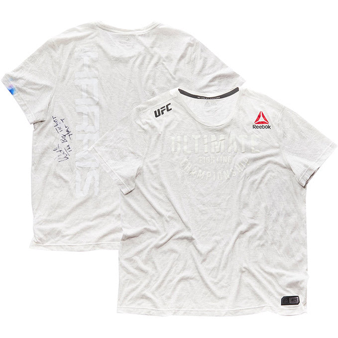 Walt Harris Autographed UFC Event Worn Jersey - UFC Fight Night Ottawa