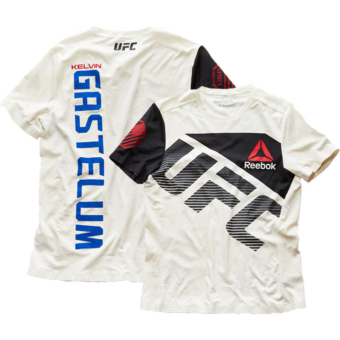 UFC on Fox 25 Kelvin Gastelum Worn Jersey