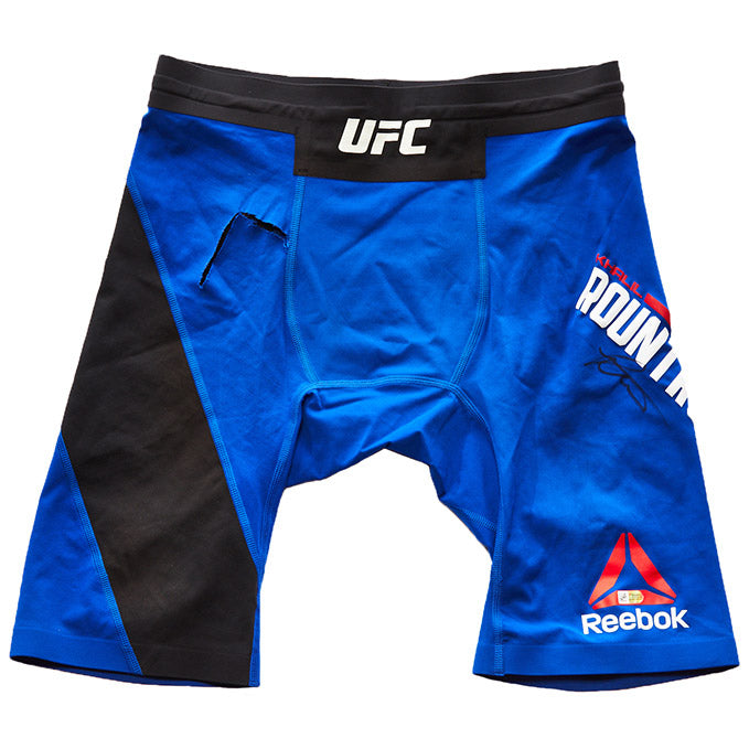 UFC Houston Khali Rountree Jr. Autographed Shorts