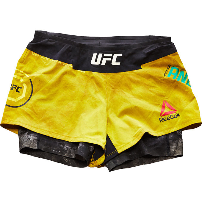 UFC Fight Night 117 Jessica Andrade Autographed Shorts