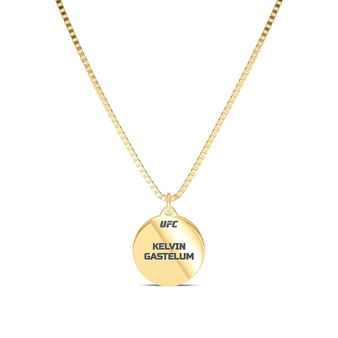 UFC Kelvin Gastelum Pendant in 14K Yellow Gold