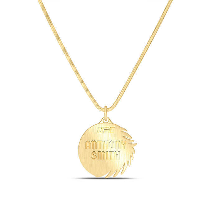 "UFC Anthony Smith 30"" Pendant in 14K Yellow Gold"